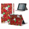Sunflower PU Leather Back Cover Case for iPad Mini Red Color