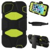 Griffin Survivor Extreme-duty Case with Holder + 180 Degree Rotatable Clip for iPhone 5/5S Green