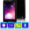 MS723B Allwinner Tablet PC Negro 2G Android 4 Bluetooth 7 pulgadas Capacitiva 512MB RAM