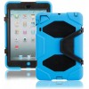 Extreme Protective Shell Cover Case Blue Color with Stand for iPad Mini