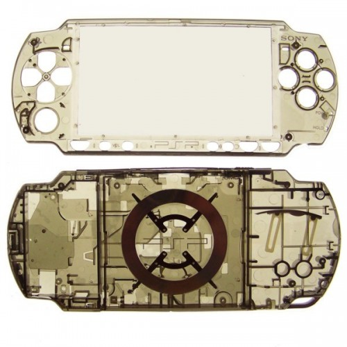 Full Replacement Translucent Housing Case Shell with Buttons