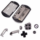 Full Replacement Housing Case Shell with Buttons for PSP GO Console Black