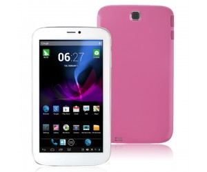 VG-V88 Tablet PC Dual Core 2G Phablet Android 4.2 with 512M RAM HDMI 7 inch HD Screen Pink