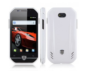 FR F599 Smartphone color blanco Android 4.0.3 MTK6515 FM/Wi-Fi pantalla touch capacitiva