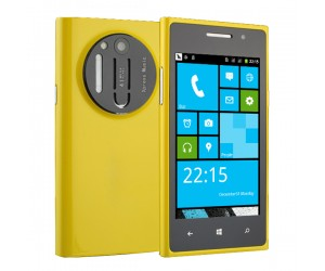 X-N1020 D smartphone amarillo Windows UI Spreadtrum SC6820 Android 4.2 FM/Wi-Fi pantalla 4 pulgadas
