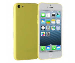 i5C IOS 7.0 UI MTK6515 Smartphone Android 4.1.9 With Wi-Fi 4 Inch Capacitive Touch Screen Yellow