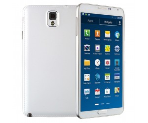 GT-N9000 NOTE3 smartphone blanco Android 4.3 Quad Core 3G GPS 1G RAM pantalla de 5.7 HD