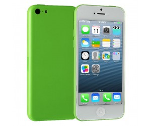 i5C IOS 7.0 UI MTK6515 Smartphone Android 4.1.9 With Wi-Fi 4 Inch Capacitive Touch Screen Green