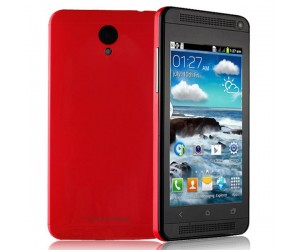 J ONE Mini Spreadtrum SC6820 Smartphone Android 4.1.1 Capacitive Touch Screen Red