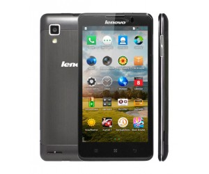 Lenovo P780 Black 5inch IPS Gorilla Glass Screen 3G Android 4.2.1 Quad Core ROM 4GB RAM 1GB