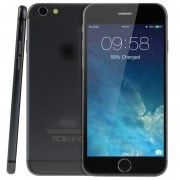Goophone i6 1:1 Black 8GB 4.7in 3G Android 4.4.2 MTK6582 Quad Core 1.3GHz RAM 1GB WCDMA/GSM