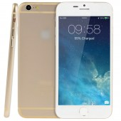 Goophone i6 1:1 Golden 8GB 4.7in Android 4.4.2 MTK6582 Quad Core 1.3GHz RAM 512MB WCDMA/GSM