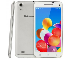 Twinovo T109 Smartphone Silver 16GB 5.0in 3G Android 4.3 8 Core 1.7GHz RAM 2GB WCDMA/GSM