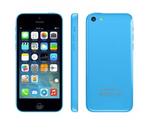 Smartphone 5c Blue GPS+AGPS Android 4.1.2 IOS UI ROM 4GB RAM 512MB Dual Core IPS Screen