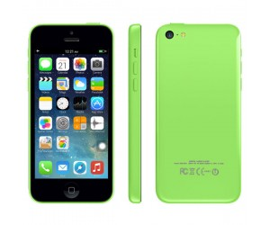 Smartphone 5c Green GPS+AGPS Android 4.1.2 IOS UI ROM 4GB RAM 512MB Dual Core IPS Screen