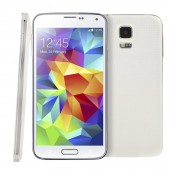 3G Phablet G900F S5style White 5.0in Quad Core Heart Rate FingerPrint Unlock Function Motions and Gestures 4GB+512MB
