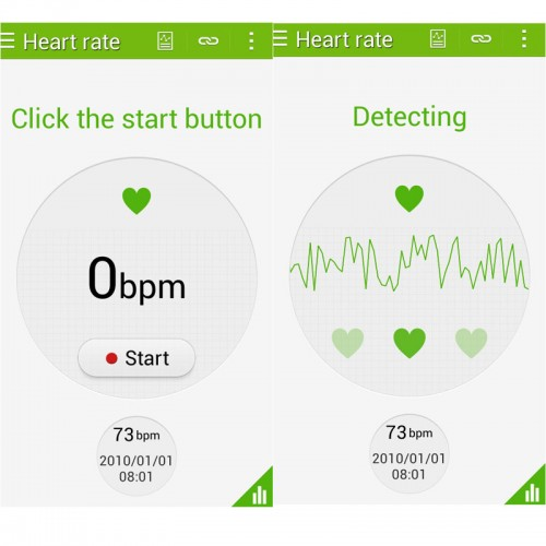 3G Phablet G900 S5style White 5 0in Dual Core Heart Rate