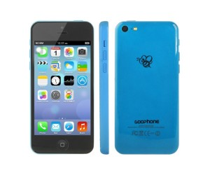 GOOphone i5c Blue GPS+AGPS Android 4.1.2 Dual Core ROM 4GB RAM 512MB 4.0 inch IPS Screen