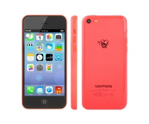 GOOphone i5c Pink GPS+AGPS Android 4.1.2 Dual Core ROM 4GB RAM 512MB 4.0 inch IPS Screen
