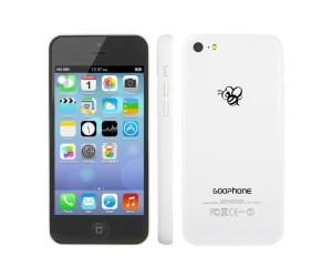 GOOphone i5c White GPS+AGPS Android 4.1.2 Dual Core ROM 4GB RAM 512MB 4.0 inch IPS Screen