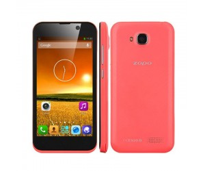 ZOPO ZP700 4.7in screen MTK6582 Quad Core 1.3GHz Android 4.2 4GB+1GB Cell Phone Red
