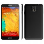 3G Phablet N3 Black Octa Core Motions and Gestures Android 4.2.2 RAM 1GB 5.5inch QHD IPS Screen