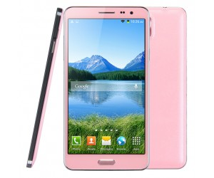 Kingelon N9800 Note3 Smart Phone 16GB Pink 5.7in 3G Android 4.2.2  8 Core 1.7GHz RAM 1GB