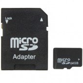64GB High Speed Class 10 Micro SD TF Memory Card Real Capacity