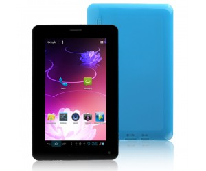Cellphone Tablet PC T730 2G GSM with Android 4.0.4 Bluetooth 4G ROM 7inch HD Screen Blue