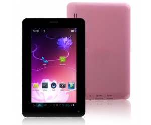 Cellphone Tablet PC T730 2G GSM with Android 4.0.4 Bluetooth 4G ROM 7inch HD Screen Pink