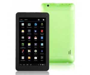VG-V8 Tablet PC Dual-Core Android 4.2 HDMI/4G R0M/Dual-Camera 7 inch Touch Screen Green