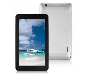 VG-V8 Tablet PC Dual-Core Android 4.2 HDMI/4G R0M/Dual-Camera 7 inch Touch Screen Silver