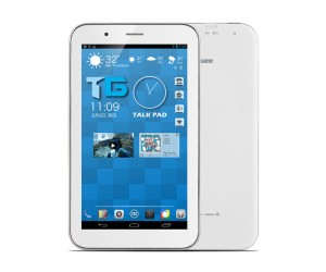 Talkpad Tablet PC TG E701 with 3G GPS/RAM 512M/ Dual Core 7 inch Capacitive Screen White