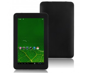 A7 Actions Tablet PC Quad Core Android 4.1 Wi-Fi 1G RAM Front-Camera 7 inch Touch Screen Black