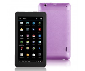 VG-V8 Tablet PC Dual-Core Android 4.2 HDMI/4G R0M/Dual-Camera 7 inch Touch Screen Purple