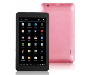 VG-V8 Tablet PC Dual-Core Android 4.2 HDMI/4G R0M/Dual-Camera 7 inch Touch Screen Pink