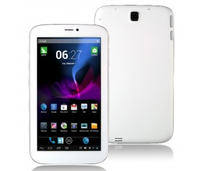 VG-V88 Tablet PC Dual Core 2G Phablet Android 4.2 with 512M RAM HDMI 7 inch HD Screen White