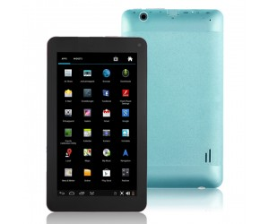 VG-V8 Tablet PC Dual-Core Android 4.2 HDMI/4G R0M/Dual-Camera 7 inch Touch Screen Blue
