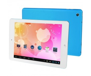 RK2926 Blue 8.0in Capacitive Screen Android 4.1 Tablet PC 1GB RAM 8GB ROM Cortex A9