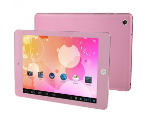 RK2926 Pink 8.0in Capacitive Screen Android 4.1 Tablet PC 1GB RAM 8GB ROM Cortex A9