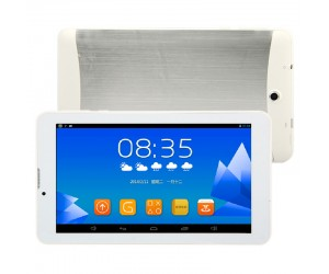 Tablet PC VHSD-7051 White 3G/2G Mobile Phone 7in HD Screen Android 4.2.2 512MB RAM 4GB ROM