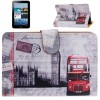 Universal London Big Ben Pattern Leather Case with Holder for 7.0 inch Tablet PC