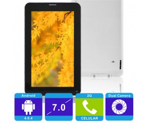 "X5 All Winner A13 Android 4.0.4 4GB 512MB DDR3 Tablet PC with 7"" Capacitive Screen 2G Phone"