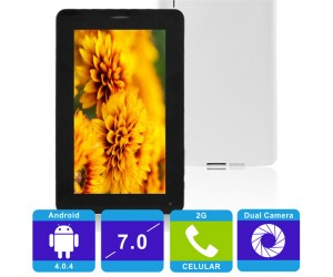 "X6 4GB All Winner 512MB Android 4.0.4 Tablet PC 7"" Capacitive Screen 2G Phone Pin Finish"